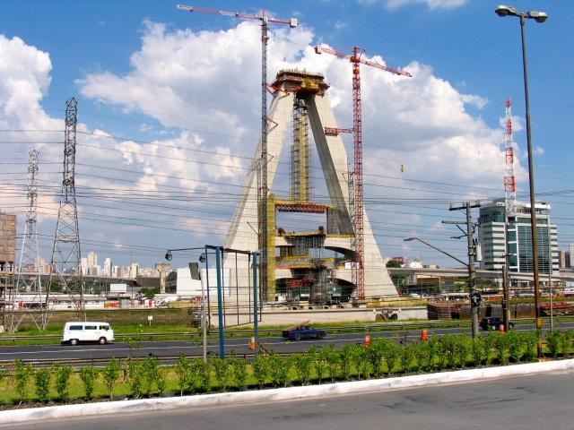 Ponte Estadia im Bau